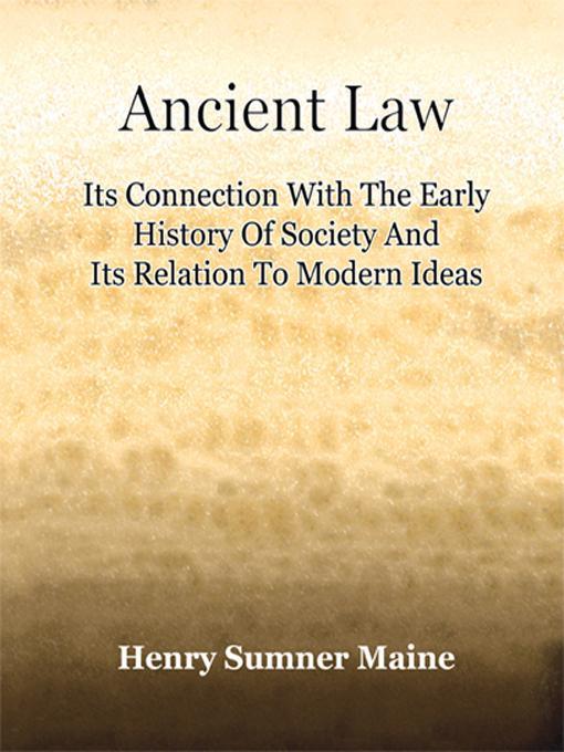 Ancient Law EB9781594626739