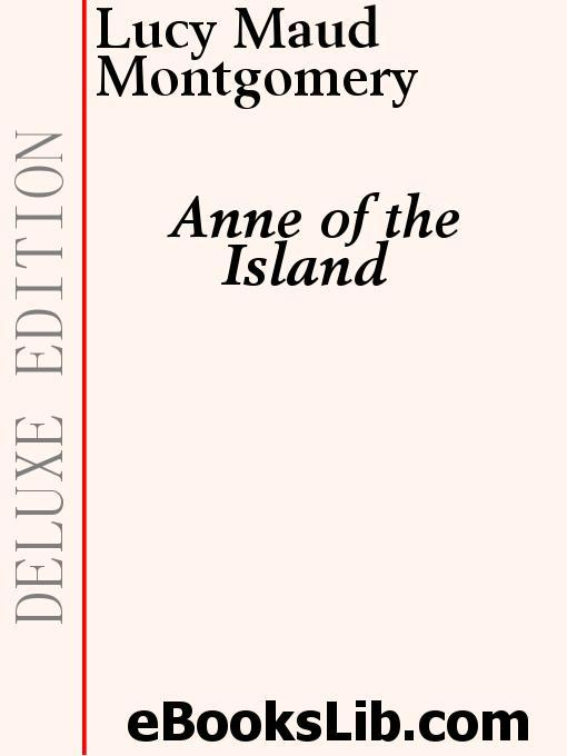 Anne of the Island EB9781554431847
