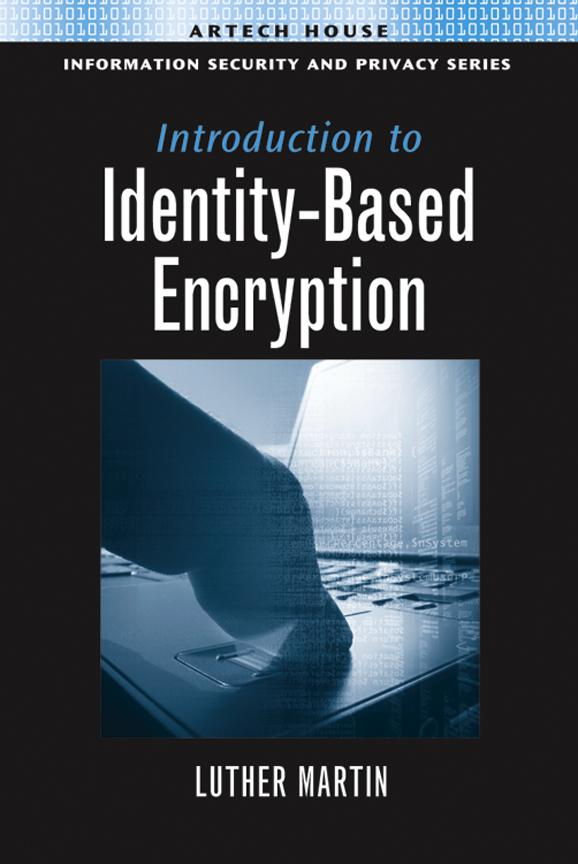 Appendix: Useful Test Data: Appendix from Introduction to Identity-Based Encryption EB9781596937321
