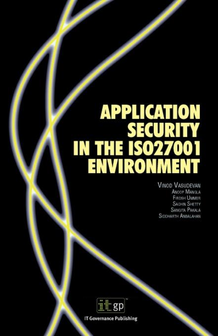 Application Security in the ISO27001 Environment EB9781905356362