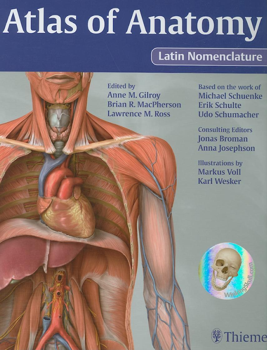 Atlas of Anatomy Latin Nomenclature version EB9781604061000