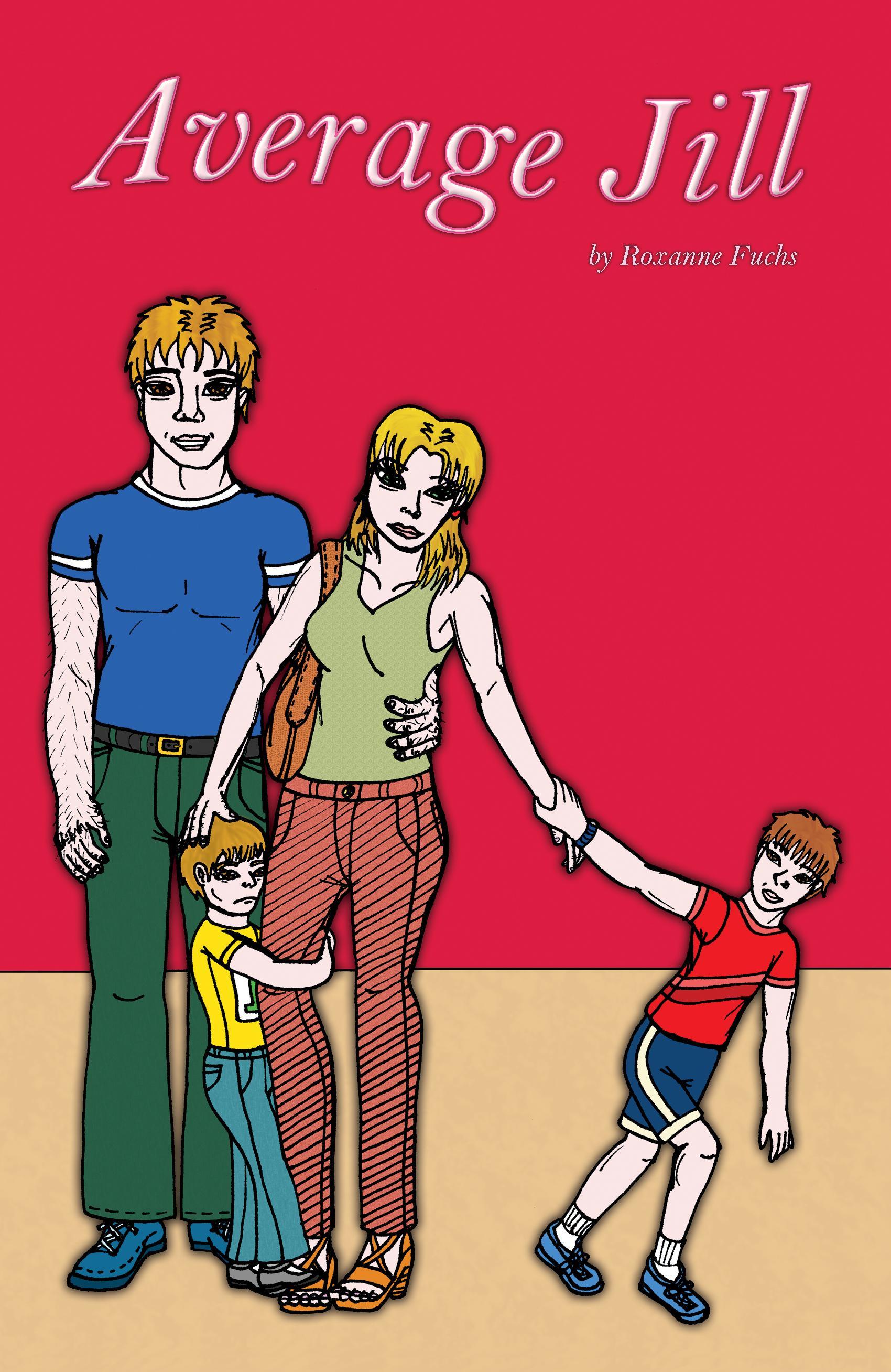 Average Jill (Comic Book) EB9781927339046