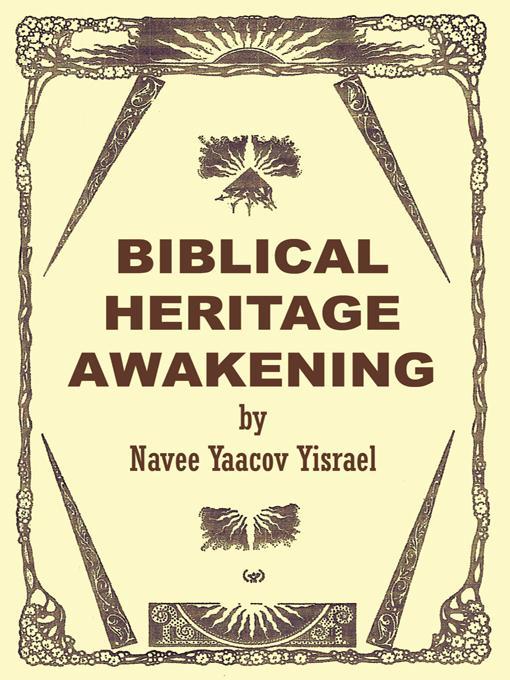 BIBLICAL HERITAGE AWAKENING EB9781426948824