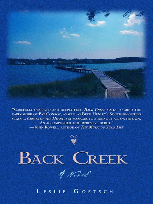 Back Creek EB9781890862879
