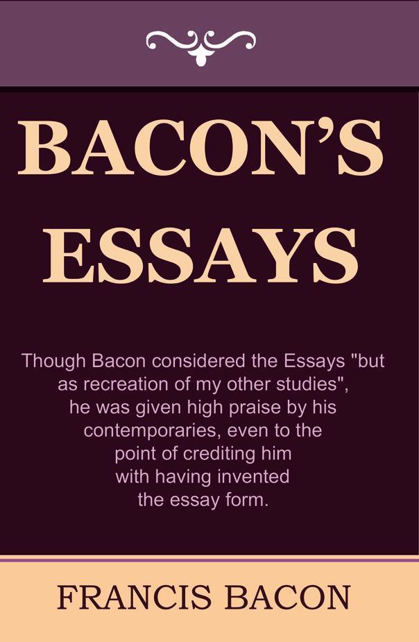 Bacon's Essays EB9781604441598