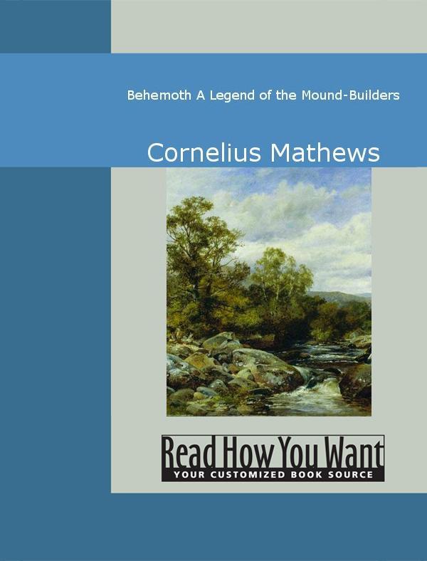 Behemoth: A Legend of the Mound-Builders EB9781442938427