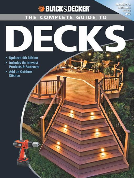 Black & Decker The Complete Guide to Decks EB9781616737405