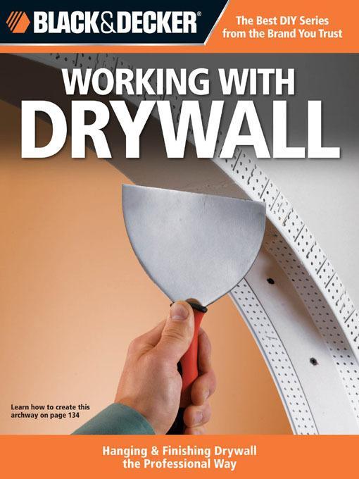 Black & Decker Working with Drywall EB9781616733926