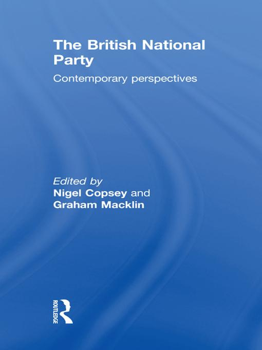 British National Party EB9781136820618