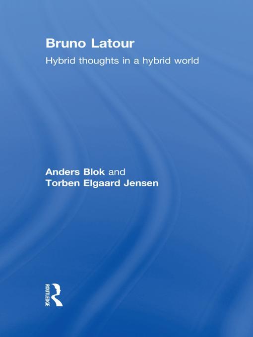 Bruno Latour EB9781136855320