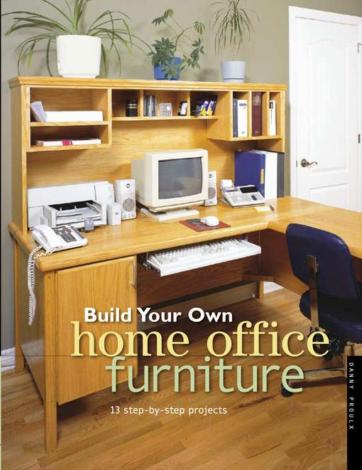 Build Your Own Home Office Furniture EB9781440316333