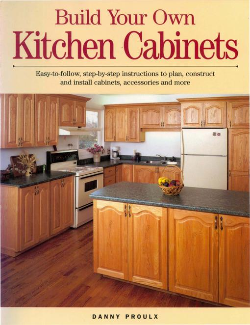 Build Your Own Kitchen Cabinets EB9781440321764