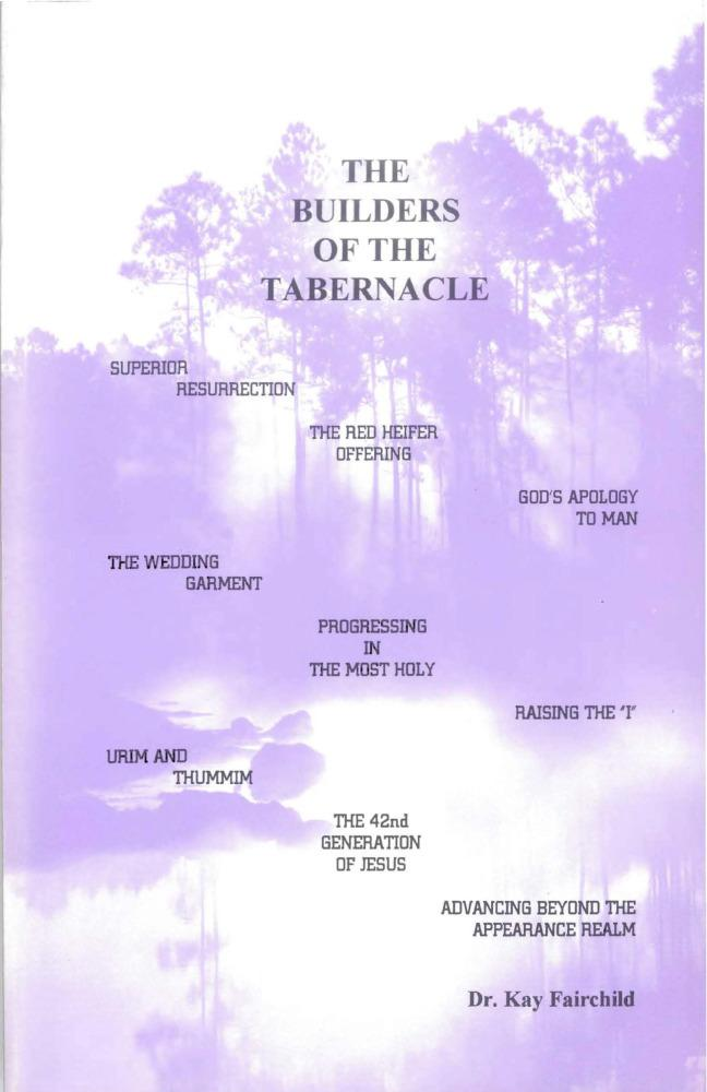 Builders of the Tabernacle EB9781456602956