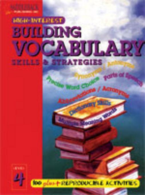 Building Vocabulary Skills and Strategies Level 4 EB9781602911239