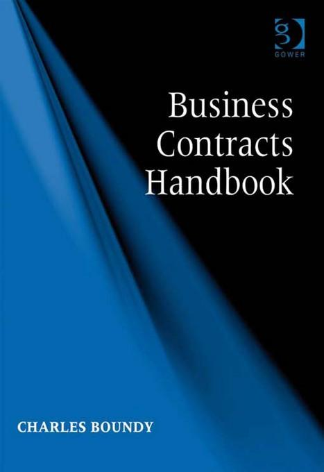 Business Contracts Handbook EB9781409458654