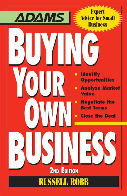 Buying Your Own Business EB9781440515668