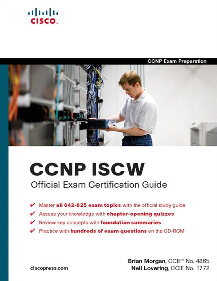 CCNP ISCW Official Exam Certification Guide EB9781587058721