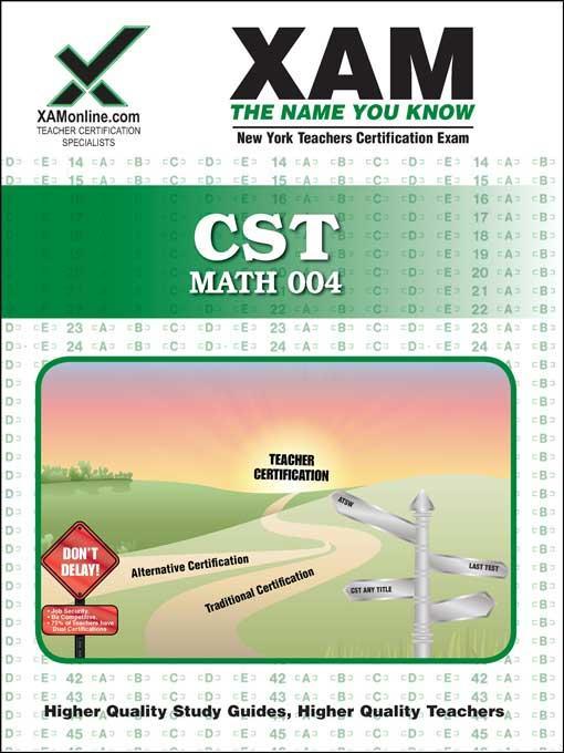 CST MATH 004 EB9781607878919