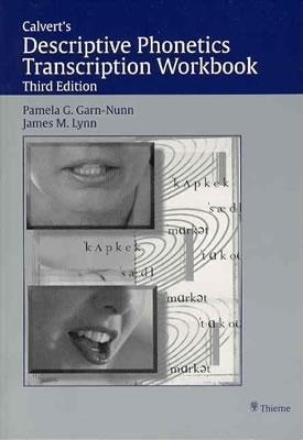 Calvert's Descriptive Phonetics Transcription Workbook EB9781604066166
