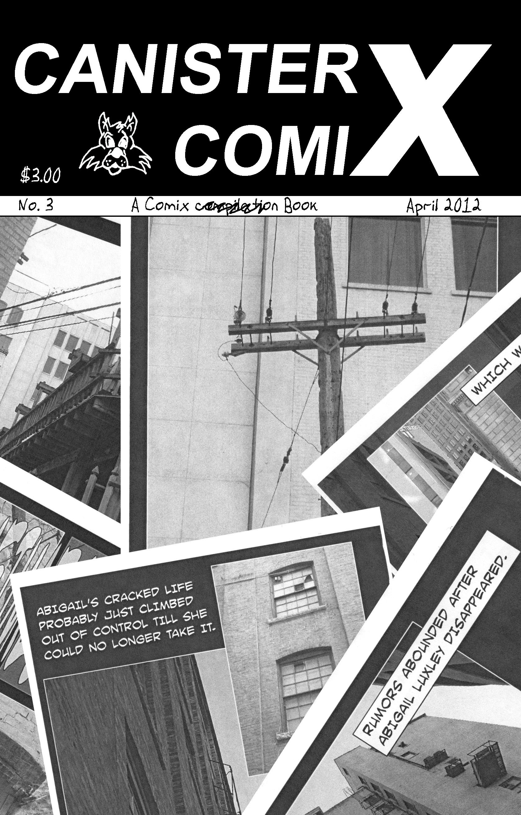 Canister X Comix No. 3 (Comic Book) EB9781926712383