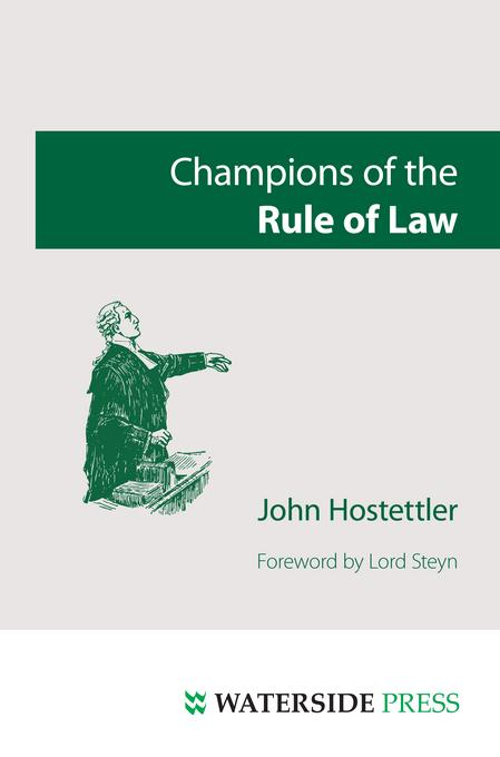 Champions of the Rule of Law EB9781908162021