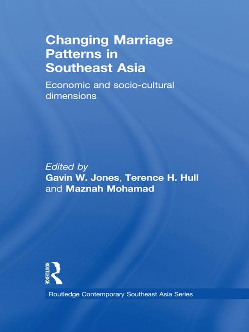 Changing Marriage Patterns in Southeast Asia EB9781136700293