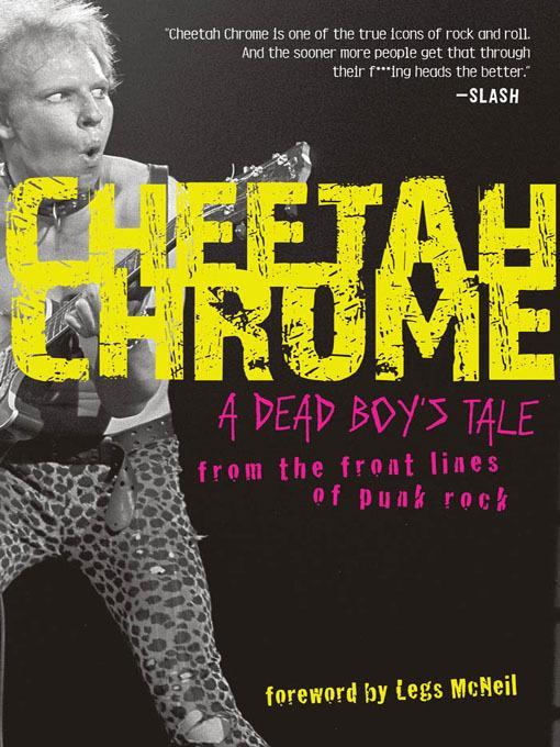 Cheetah Chrome EB9781616739805