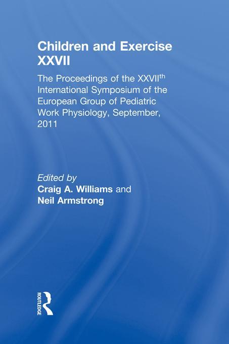 Children and Exercise XXVI EB9781136973604