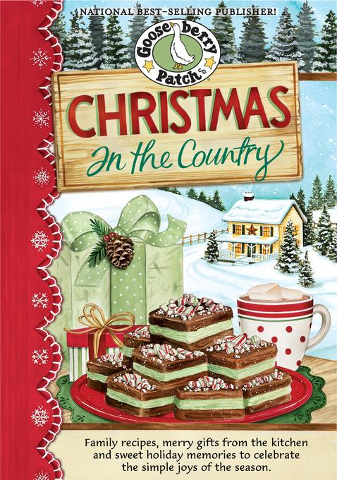 Christmas in the Country Cookbook EB9781936283491