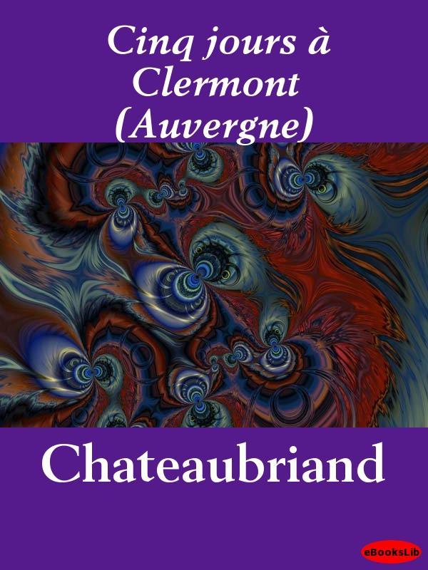 Cinq jours ? Clermont (Auvergne) EB9781412195157