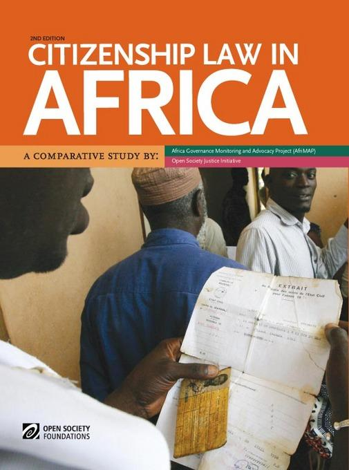 Citizenship Law in Africa: A Comparative Study EB9781920489588