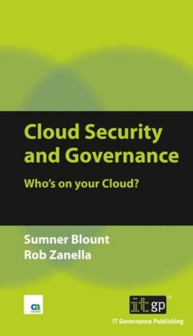 Cloud Security and Governance EB9781849280914