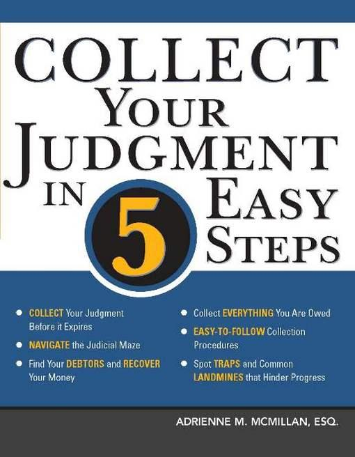 Collect Your Judgment in 5 Easy Steps EB9781572487154