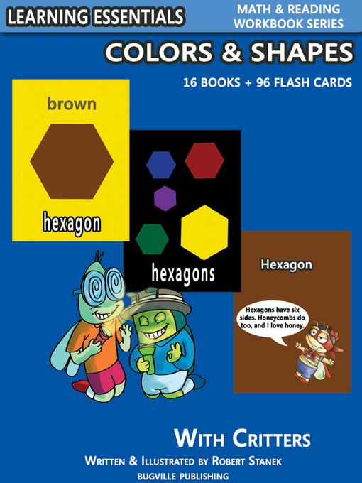 Colors & Shapes Storybooks: 16 Books & 96 Flash Cards with Critters EB9781575452845