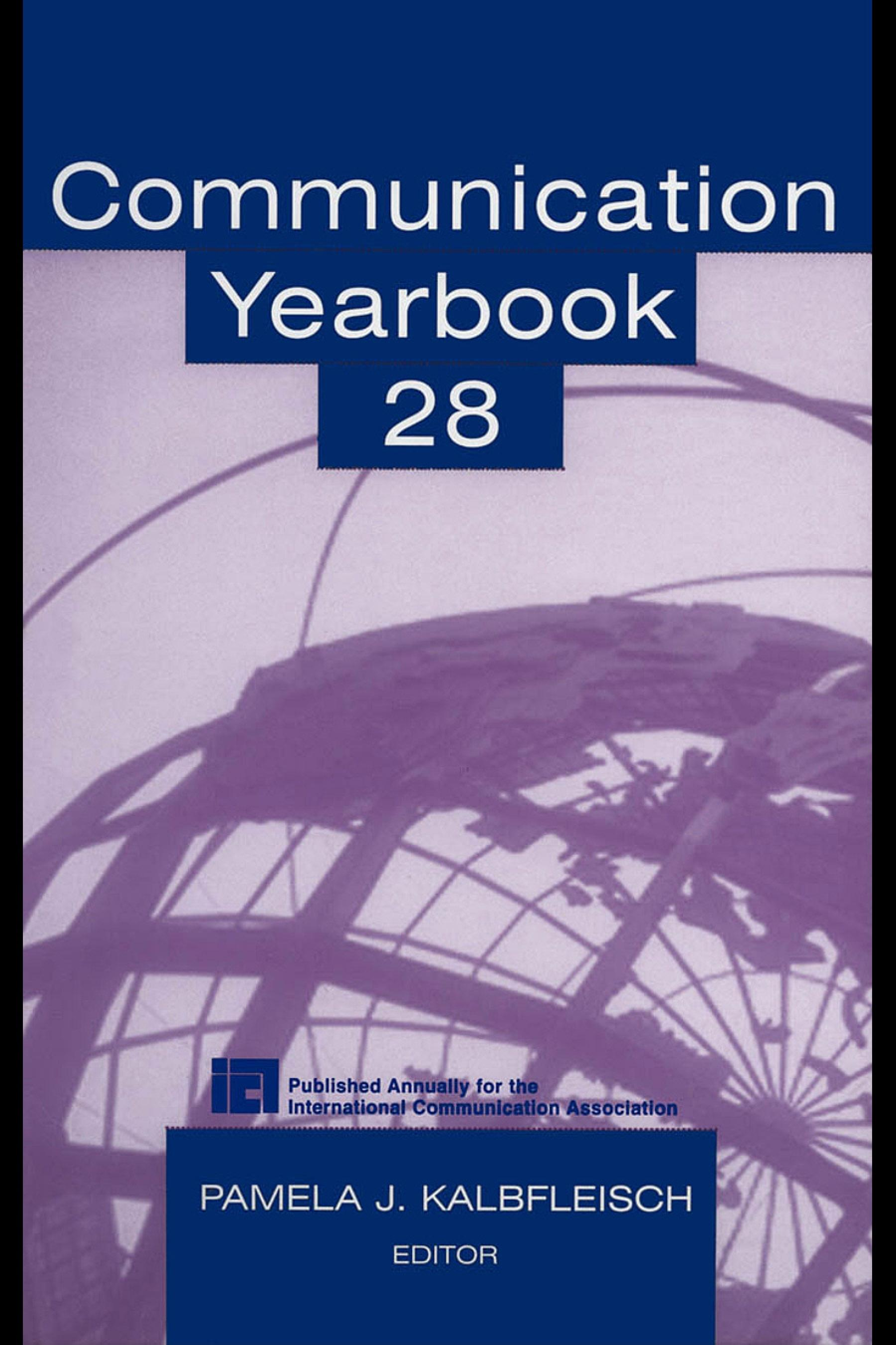 Communication Yearbook 28 EB9781410610690