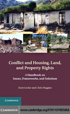 Conflict and Housing, Land and Property Rights EB9781139065986