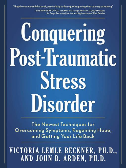 Conquering Post-Traumatic Stress Disorder EB9781616737771