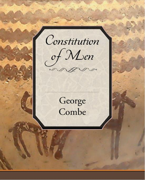 Constitution of Man Considered in Relation to External Objects (ebook) EB9781438564494