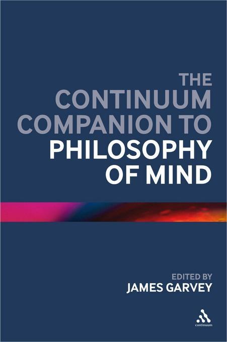 Continuum Companion to Philosophy of Mind EB9781441121295