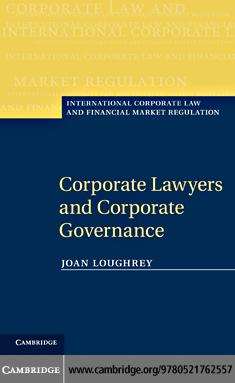 Corporate Lawyers and Corporate Governance EB9781139089043
