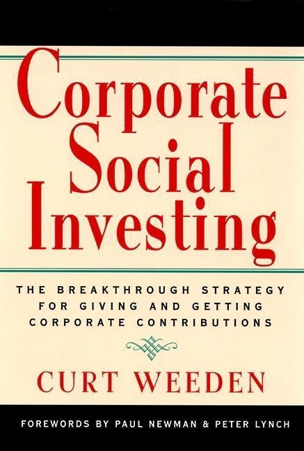 Corporate Social Investing EB9781609941529