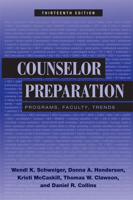 Counselor Preparation EB9781136949593