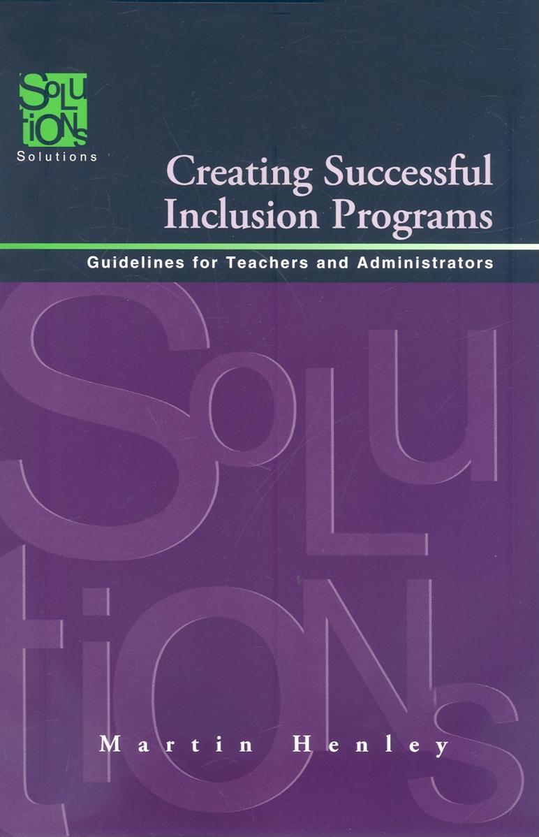 Creating Successful Inclusion Programs EB9781936765782