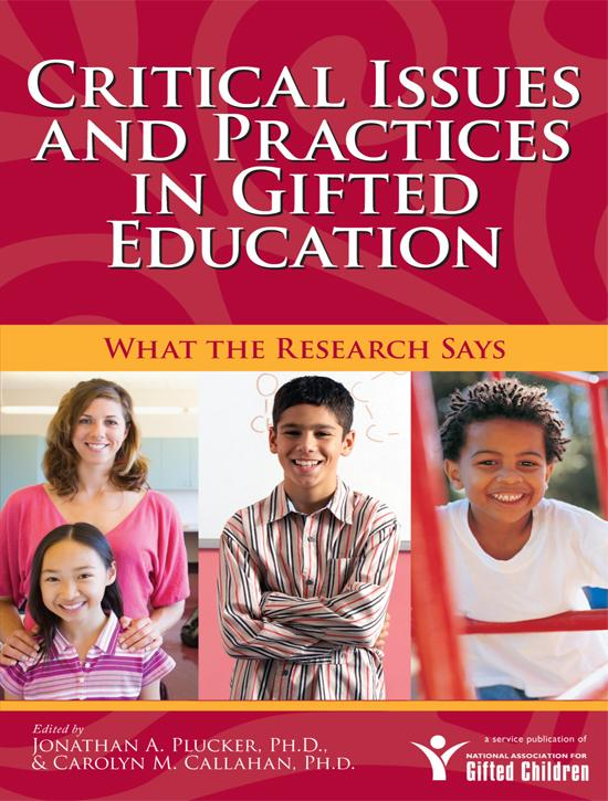 Critical Issues and Practices in Gifted Education EB9781593635039
