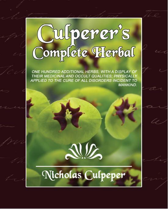 Culpeper's Complete Herbal EB9781438554457