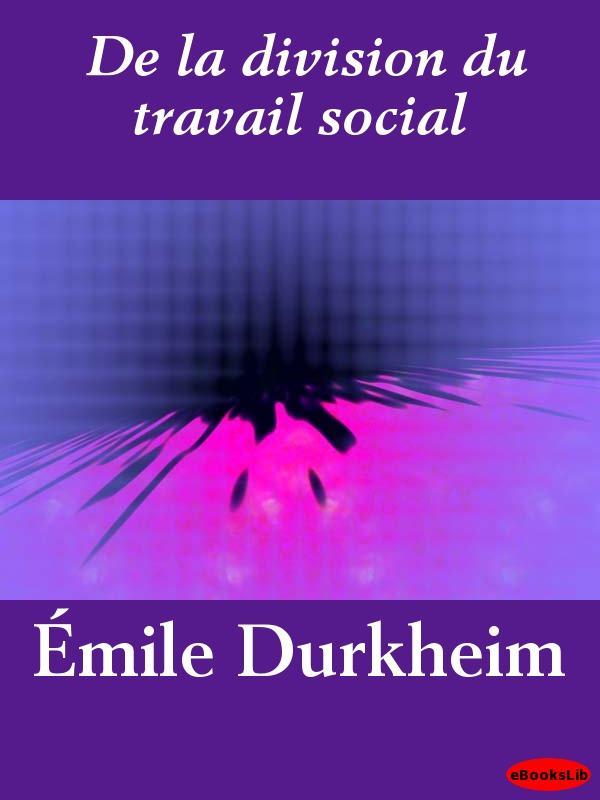 De la division du travail social EB9781412191968