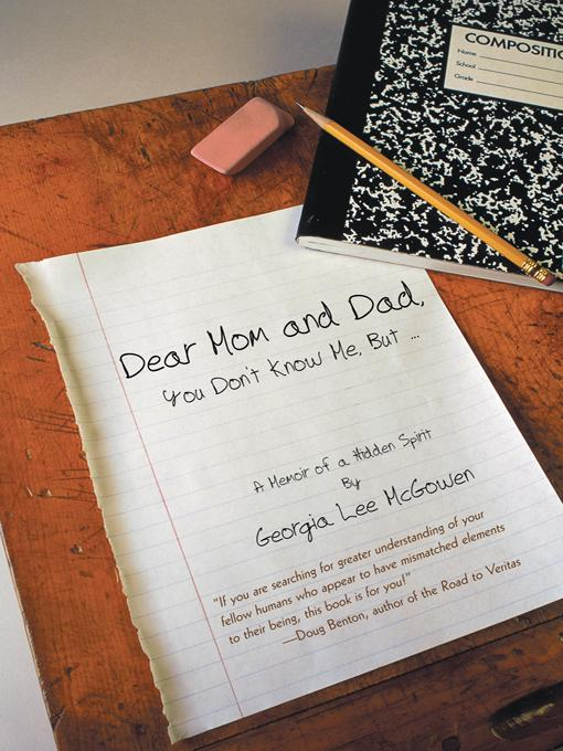 Dear Mom and Dad: You Don't Know Me, But ... EB9781475931693