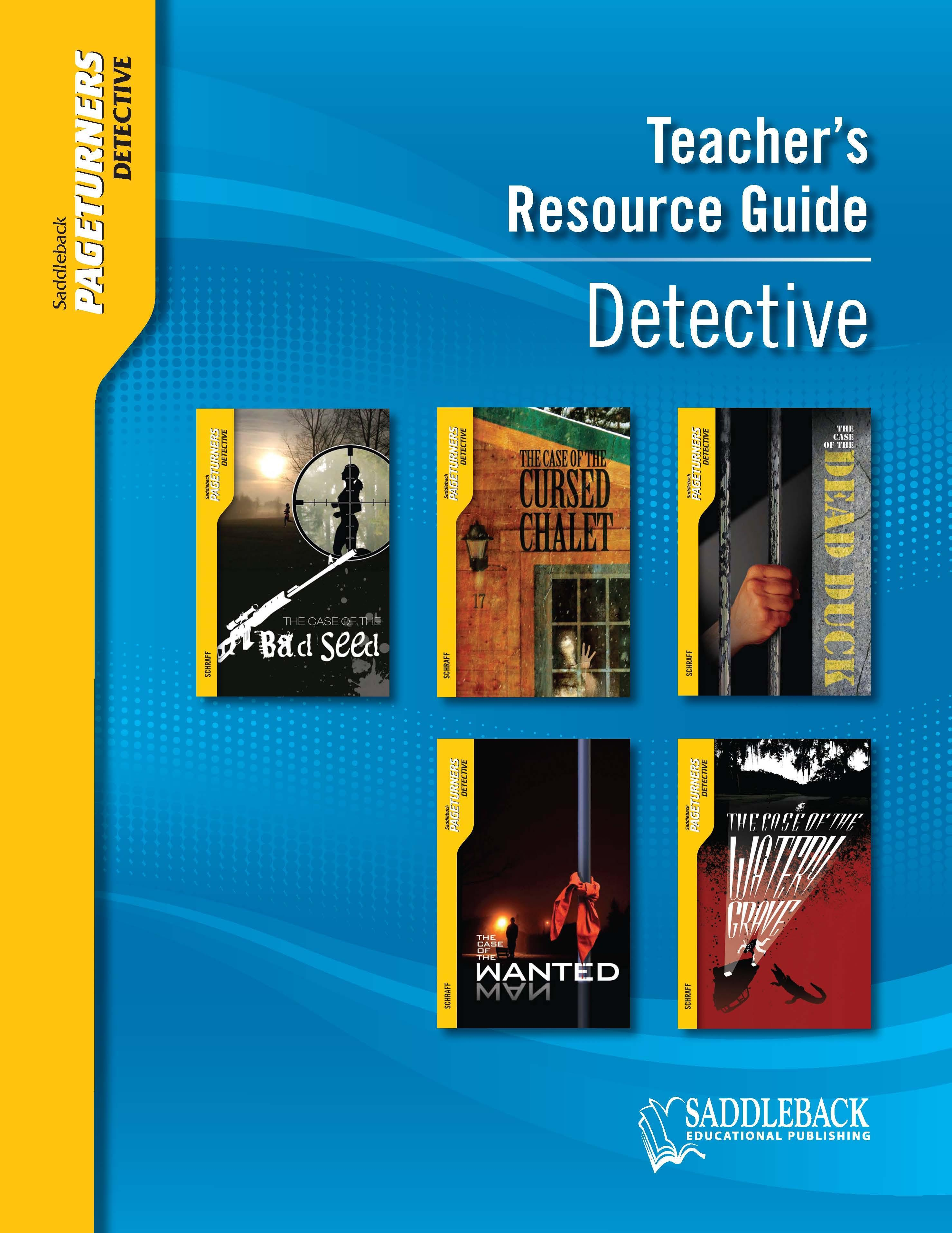 Detective Teacher's Resource Guide EB9781602912496