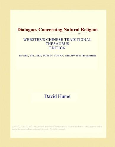 Dialogues Concerning Natural Religion (Webster's Chinese Traditional Thesaurus Edition)