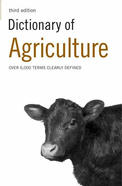 Dictionary of Agriculture EB9781408102299